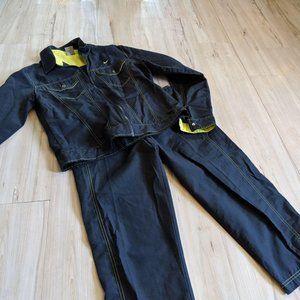 Nike Girls Set 2 Piece Track Jog Suit Jacket Pant